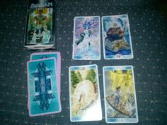 Shaman tarot, this one is great for beginners despite appearing difficult because they name each minor arcana card in addition to its number or court card name What Are Tarot Cards, Tarot Cards For Beginners, Tarot Astrology, Tarot Learning, Card Making, Number, Collection