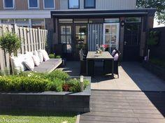 Hippetuinen Tuinontwerp & Adviesbureau. #Tuinontwerp kleine #achtertuin #stadstuin.