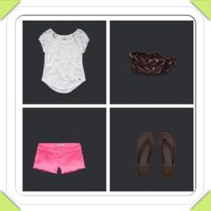 Abercrombie kids outfit-love it but needs longer shorts!