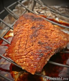 To Food with Love: Snap, Crackle and Pork! (Siu Yuk / Crispy Roast Pork Belly)