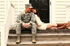 Army couples photos.