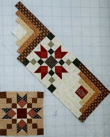 log cabin blocks Heritage Quilt Sewn With Wild Oaks Colchas Quilting, Quilting Projects, Quilting Designs, Log Cabin Quilt Pattern, Log Cabin Quilts, Scrap Quilt, Quilt Blocks, Civil War Quilts, Star Quilt Patterns