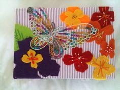 Caixa porta objetos - borboleta