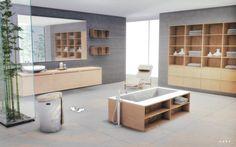 Tokyo Bathroom Conversion by Alachie and Brick.