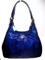 Coach Patent Leather Madison Maggie Hobo Handbag 21238 Ultramarine Blue From Coach - Bags or Shoes Shop