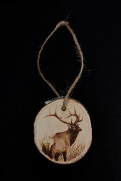 More pyrography by Nathaniel De Jong