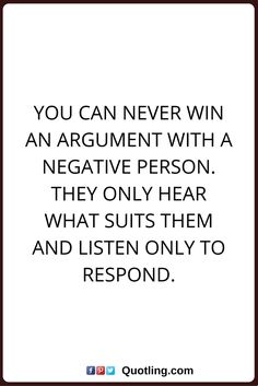 Morningthoughts Quote Stay Away From Negative People They Have A