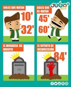 ¡Monarcas Morelia nunca llegó al Nou Camp y Club León Oficial es semifinalista!  #somosJUGOtv