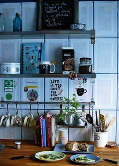 Lovely Kitchen decor / Micdejundebucuresti.blogspot.com