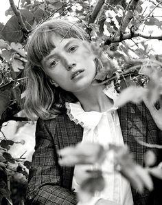 Model: Lou Schoff   Photographer: Christian MacDonald - for Interview Magazine, August 2016