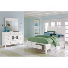 Bedroom Design: Beauteous White Beadboard Bedroom Furniture With ...