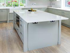 Inframe Lamproom Grey Oak Shaker   Maag Kitchens