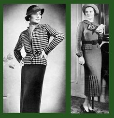Iva Rose Vintage Reproductions - Bear Brand & Bucilla #83 c.1935 - Advance Fashions in Hand Knits