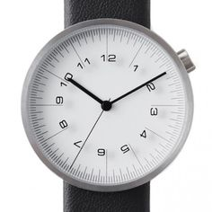 by | n Watch - The Draftsman - 01.scale - 36mm White