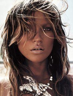 Kate Moss Fashion Editorials: Mert & Marcus, 2002