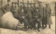 German Soldiers Requisitioning Church Bells for War Effort by  Unknown Artist
