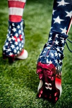 american flag cleats female - Google Search