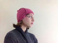 Pink Knit Ear Warmer With Black and Pink Bow Women's Fashion Teen Fashion Winter Apparel Christmas Gift Birthday Gift #headband #earwarmer #Etsy #bow #knit #knitting #winterwardrobe