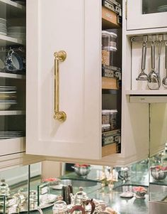 Stephanie Stokes, an interior designer, planned out this 48 square-foot kitchen to the last quarter of an inch