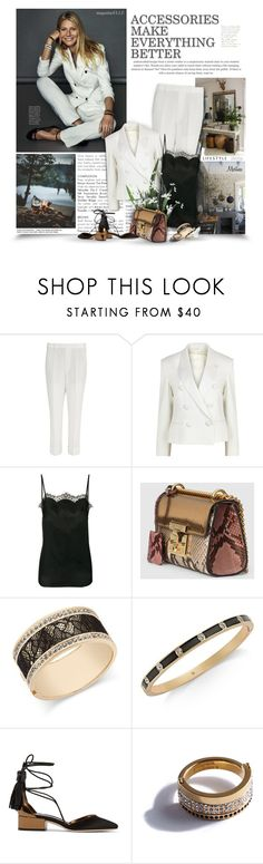"""A Woman With Class Is Timeless"" by thewondersoffashion ❤ liked on Polyvore featuring Neil Barrett, Faith Connexion, Gucci, Thalia Sodi, Kate Spade, Jimmy Choo, Vita Fede, jimmychoo, gucci and faithconnexion"