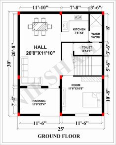 660 Sq Ft House Plans Awesome House Plan with Elevation 750 Sqft House by Micro House Plans, 2bhk House Plan, Simple House Plans, Model House Plan, Duplex House Plans, House Layout Plans, Family House Plans, Bedroom House Plans, Country House Plans