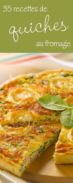 35 recettes irrésistiblement gourmandes de quiches au fromage Quiche Recipes, Veggie Recipes, My Recipes, Cooking Recipes, Healthy Recipes, Quiches, Omelettes, Cuisine Diverse, Cheese Quiche