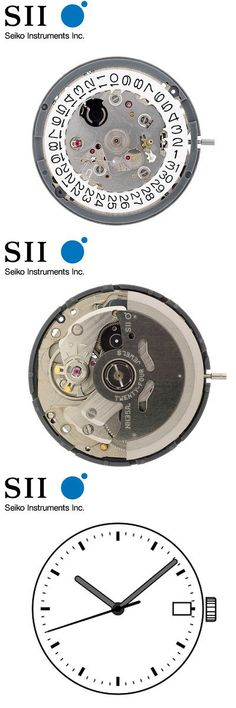 Movements 57720: Original Seiko Sii Nh35 Nh35a Automatic Watch Movement - New -> BUY IT NOW ONLY: $33.85 on eBay!