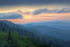 There is nothing like a spring sunrise in the Smokies!