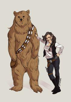 Star Wars, meet Critical Role. Critical Role, meet Star Wars. ;) <3