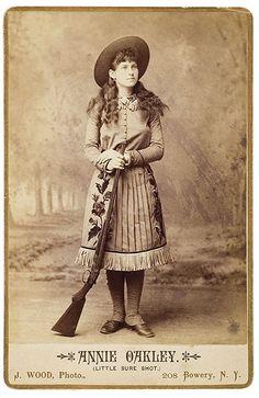 Western Legend, Annie Oakley.