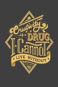 Typography Quote on Behance