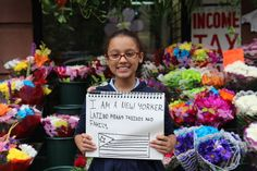 What #Latino means to me! ~ Chloe Santos, Puerto Rican, 10, Harlem, NY. |