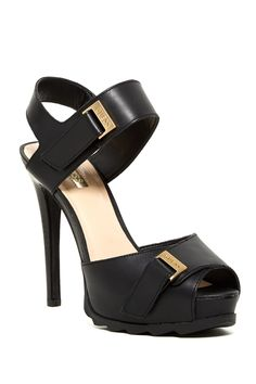 Baina Platform Sandal by GUESS on @nordstrom_rack