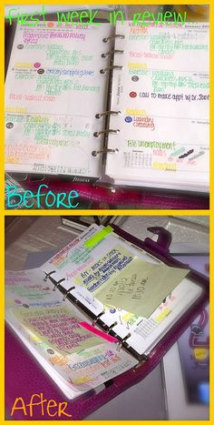 My life has changed from not planning to living life in an organized fashion with planners and calendars. I love my planner and my whiteboards for reminders.