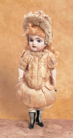 The Happy Life of a Collector: 106 German All Bisque Miniature Doll by Kestner