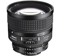 Nikon AF NIKKOR 85mm f/1.4D IF Lens