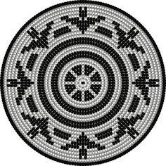 Tapestry Crochet Patterns, Crochet Stitches, Crochet Hats, Crochet Blanket Tutorial, Native American Patterns, African Crafts, Dot Art Painting, Wool Yarn, Beading Patterns