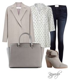 """""""White stuff easel shirt"""" by kezziedsp ❤ liked on Polyvore featuring Frame Denim, White Stuff, John Lewis, MICHAEL Michael Kors and rag & bone"""