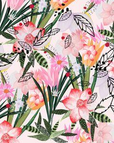 karel Art Print #florals