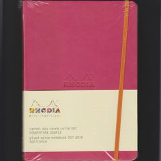 serie Rhodiaorama, soepele omslag,90 gr. papier