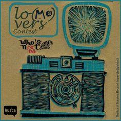 Lo (mo) vers linocut print by susanna doccioli