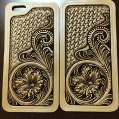 "84 Likes, 2 Comments - Mayumi  Konno (@mai19620205) on Instagram: ""#leathercarving#leather #iPhoneカバー#ハンドメイド #レザーカービング#レザークラフト#floral#iPhonecover"""