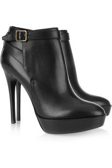 So in love: Burberry Prorsum  Leather ankle boots