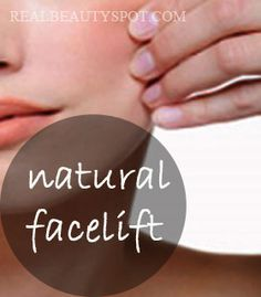 DIY natural home facelift - 3 easy to do steps: exfoliate, tighten and moisturizer. Gorgeous looking skin