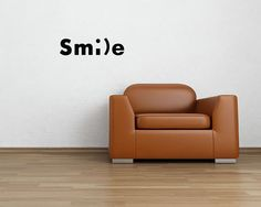 Smile Vinyl Wall Art Decal