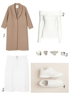 THECLASSYDRESSY.COM - February Favourites #fashion #fashionideas #outfits #outfitinspiration #classy #whattowear #howtowear #white #camel #sneaker