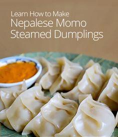 Nepalese Momo Steamed Dumpling Recipe