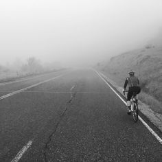 We don't get conditions like this very often and that's what makes it special. Get out there and #rideyourbike.  #womenscycling #fogbro #stravaphoto by coloradocyclingadventures