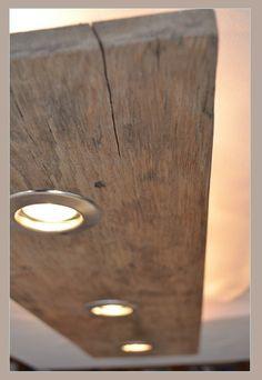 Deckenlampen - Altholz Design Lampe - ein Designerstück von MassivholzDesignHannover bei DaWanda