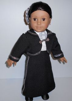 Shop for on Etsy, the place to express your creativity through the buying and selling of handmade and vintage goods. American Doll Clothes, Girl Doll Clothes, Doll Clothes Patterns, Clothing Patterns, Girl Dolls, Mariachi Suit, Girl Costumes, Costume Ideas, American Girls